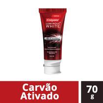 Creme Dental Colgate Luminous White Carvão Ativado 70g -