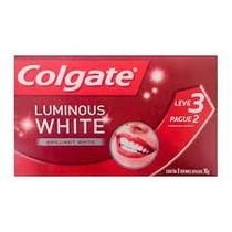 Creme Dental Colgate Luminous White Leve 3 e Pague 2 - 70g
