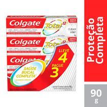 Creme Dental Colgate Total 12 Clean Mint Leve 4 Pague 3 com 90g Cada -