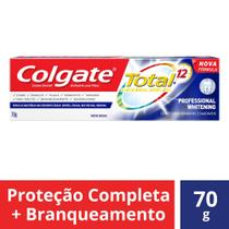 Creme Dental Colgate Total 12 Professional Whitening - 70g