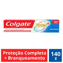 Creme Dental Colgate Total 12 Whitening  140g