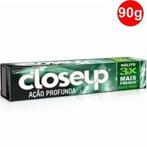 Creme Dental em Gel Close Up Menthol Paradise 90g - Unilever