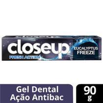 Creme Dental Gel Close Up Fresh Action Eucalyptus 90 Gr -
