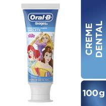 Creme Dental Infantil Oral-B Stages Carros/Princesa/Mickey 100g - Oral b