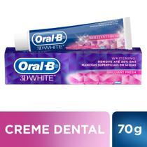Creme Dental Oral-B 3D White Brilliant Fresh 70g -