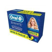 Creme Dental Oral-B 3D White Brilliant Leve 6 Pague 4 70g - Oral B