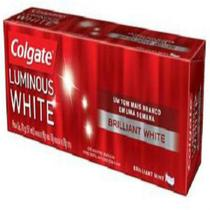 Creme dental terapeutico colgate 70g luminous white brilhante - Sem marca