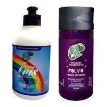 Creme Diluidor Arco Íris 300 ml + máscara Kamaleao Color Polvo 150 ml - Tonalizante Roxo -