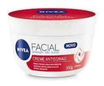 Creme facial antissinais  nivea  vermelho -