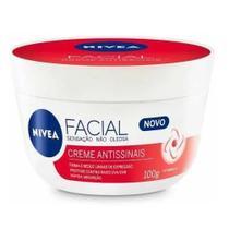Creme Facial Nivea Antissinais 100g Original Redutor Rugas -