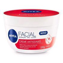 Creme Hidratante Facial Antissinais Nivea 100g -