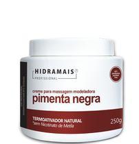 Creme Massagem Hidramais Pimenta Negra 250g - Biocap