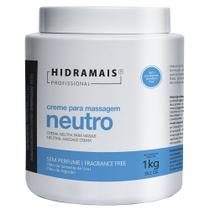 Creme Neutro para Massagem Hidramais Profissional -