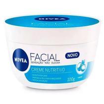 Creme nutritivo facial nivea -