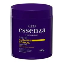 Creme para Cabelo Alisante Normal Essenza Profissional 480g -
