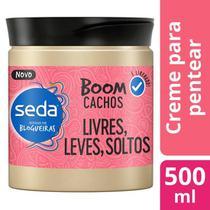Creme Para Pentear Seda 500ml Boom Cachos Soltos -
