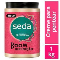 Creme Para Pentear Seda Boom Definição 1Kg -