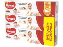 Creme Preventivo para Assaduras Infantil Huggies - Supreme Care 80g 3 Unidades