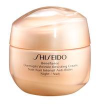 Creme Rejuvenescedor Facial Shiseido - Benefiance Overnight Wrinkle Resisting Cream -