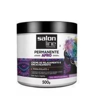 Creme Relaxante E Encacheamento Afro Salon Line 500g -