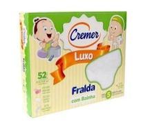 Cremer Luxo Fralda De Pano C/ Bainha C/5 (Kit C/12) -
