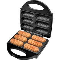 Crepeira e hot dog britania six para 6 unidades 127v -