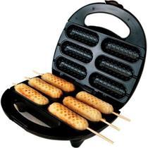 Crepeira E Hot-dog Elétrica Antiaderente Sm-680 Steammax - Steam Max
