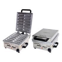 Crepeira Elétrica 12 Cavidades 2000W Inox - Ademaq / 110v -