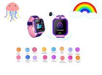 Crianças Relógio Inteligente IP67  Criança GPS Trancker Anti-lost SOS-  ROSA - Global