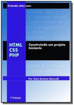 Criando sites com html-css-php - Autor independente