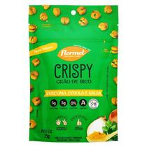 Crispy grão de bico sabor cúrcuma, cebola e salsa 25g - Flormel