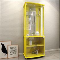 Cristaleira Com Iluminação Luxo Amarelo 4070 - Jb Bechara -