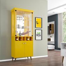 Cristaleira Monza II Amarelo - Bechara