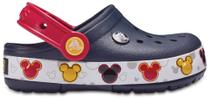Crocs CrocsLights Mickey Clog K Navy -