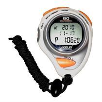 Cronômetro De Precisão Liveup Sports Ls3347 Branco/Laranja -