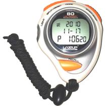 Cronômetro Digital com Alarme Relógio 80 Lap - LIVEUP LS3347 -