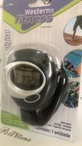 Cronômetro Digital De Mão Digital C/ Alarme Corrida Tempo - Western