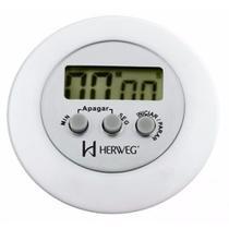 Cronômetro Digital Progressivo Regressivo Herweg 3308-21 -