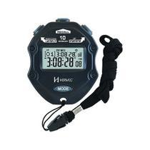 Cronômetro Digital Relógio Com Calendário E Alarme Sonoro A Pilha Para Esportes Herweg Preto -