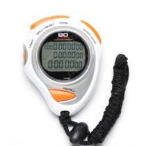 273d6ed2f41 Cronometro Profissional 80 de Memoria com Alarme e Relogio Liveup