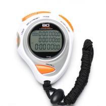 Cronometro Profissional 80 de Memoria com Alarme e Relogio  Liveup -