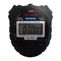 Cronometro Profissional Aprova d'água Any Time, Relógio e Data -