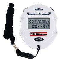 Cronômetro Progressivo Digital Relógio Alarme Data Hora Lap - Instrutherm