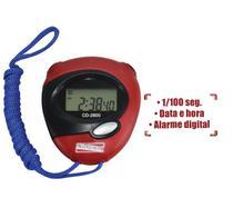 Cronometro Timer Esportivo Relógio para Academia e Contagem Sem Certificado CD-2800 Instrutherm -