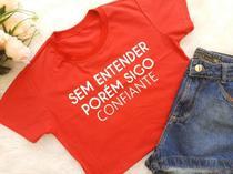 Cropeeds 100% algodão kit c/ 10 peças t. único - Donna Rica T-Shirts