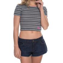 Cropped Roxy Cool Waters -