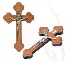 Crucifixo moldado para parede 12cm - Armazem