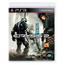 Crysis 2 Playstation 3 Ps3 Mídia Física Original Usado - Dice ea