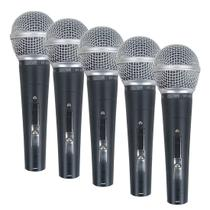 CSR 48-5  Kit 5 Microfones com Fio de Mão -