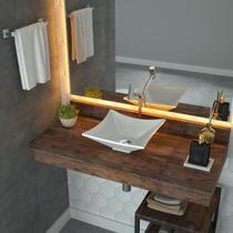 Cuba Apoio Para Banheiro Trevalla Lux L30 Quadrada -